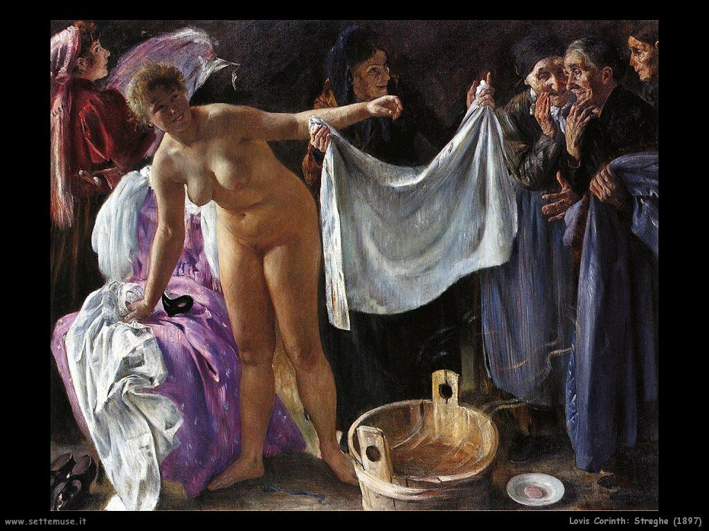 Lovis Corinth - Streghe (1897)